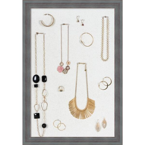 Medium Barn Wood Framed Earring Display