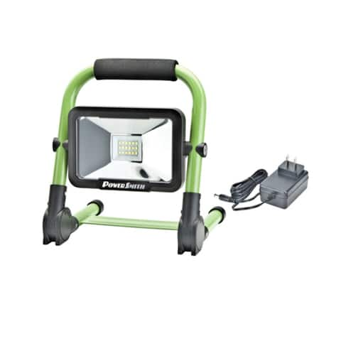 PowerSmith PWLR1110F Compact Foldable Rechargeable LED Work Light, 900 lm, 10W