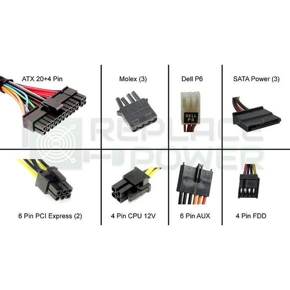300 Watt ATX Power Supply Replace for Dell Optiplex 170l,gx50,gx60,gx240,gx150