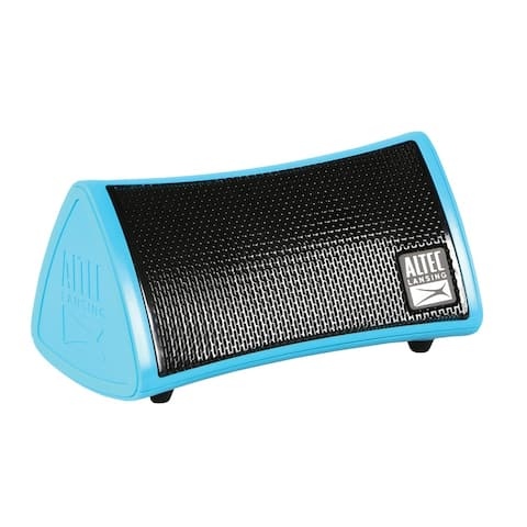 Inmotion Mini Bluetooth Speaker by Altec Lansing - Blue Wireless Rechargable