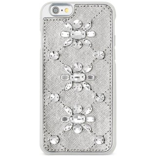 Michael Kors Womens Cell Phone Case Saffanio Embellished (Option: Silver)