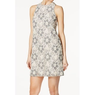 Rachel Rachel Roy White Ivory Womens Size XS Lace Sheath Dress