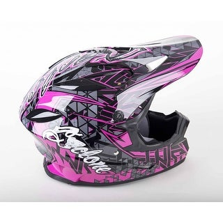Cyclone ATV MX Motocross Dirt Bike Quad Off-road Helmet Pink
