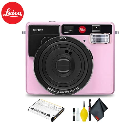 Leica Sofort Instant Film Camera (Pink) Kit