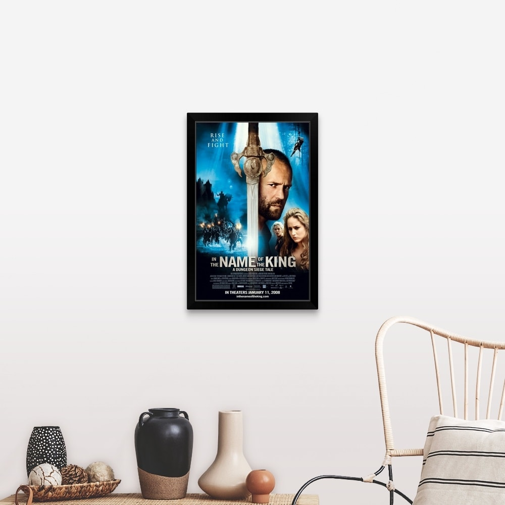 Shop In The Name Of The King A Dungeon Siege Tale Movie Poster