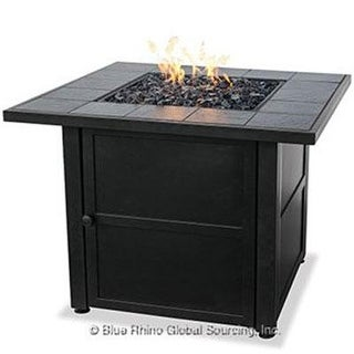 Blue Rhino - Gad1399sp - Uf Ceramic Tile Lp Gas Firepit