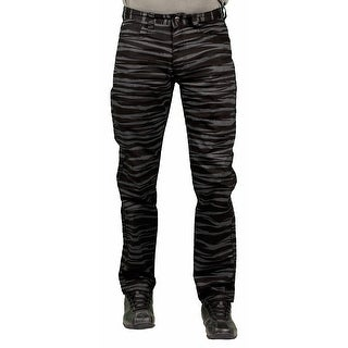 MO7 Men's Tiger Stripe Print Fashion Pants