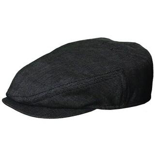 Stetson Linen Lightweight Ivy Cap - Black - 2XL