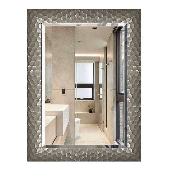 Copper Grove Bringamosa Glam Beveled Honeycomb Venetian Wall Mirror - 24*32*0.75. Opens flyout.