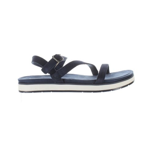 Koolaburra Womens Haisley Insignia Blue Ankle Strap Sandals Size 9