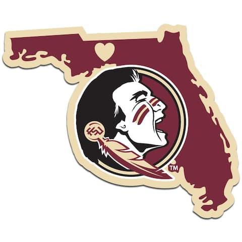 Florida State Seminoles Decal Home State Pride Style - Multi