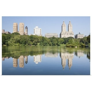 """The Lake, Central Park, New York"" Poster Print"