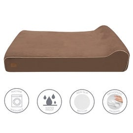 Lux by FrontPet Orthopedic Dog Bed / Premium Memory Foam Dog Bed With Removable Microfiber Machine Washable Slipcover- XXL