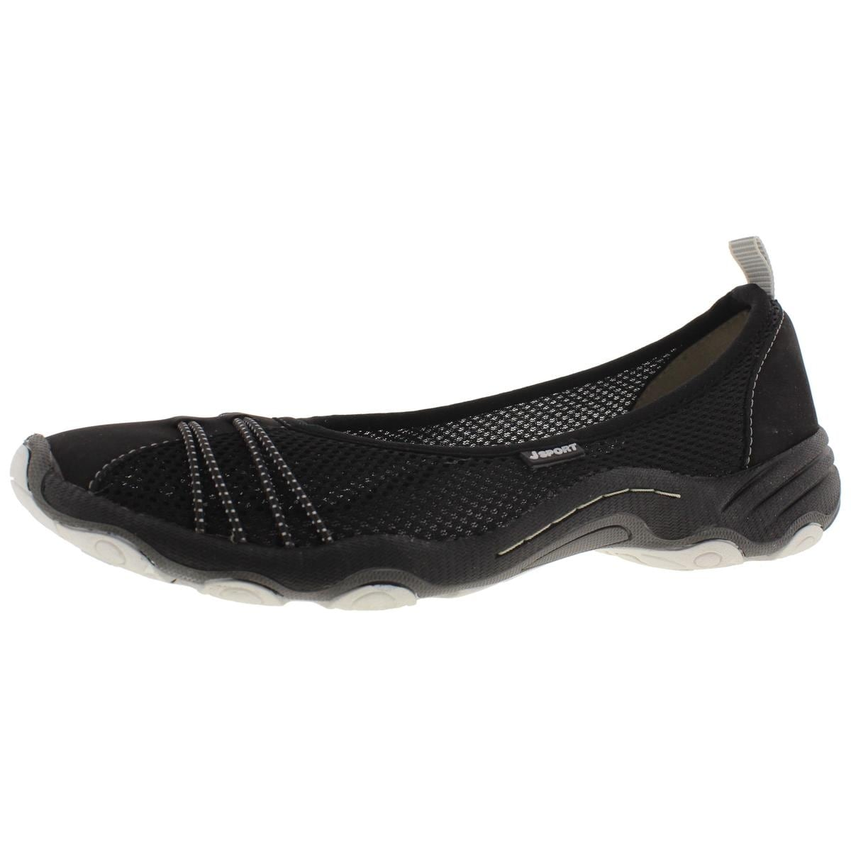 JSport by Jambu Womens Spin Encore Ballet Flat