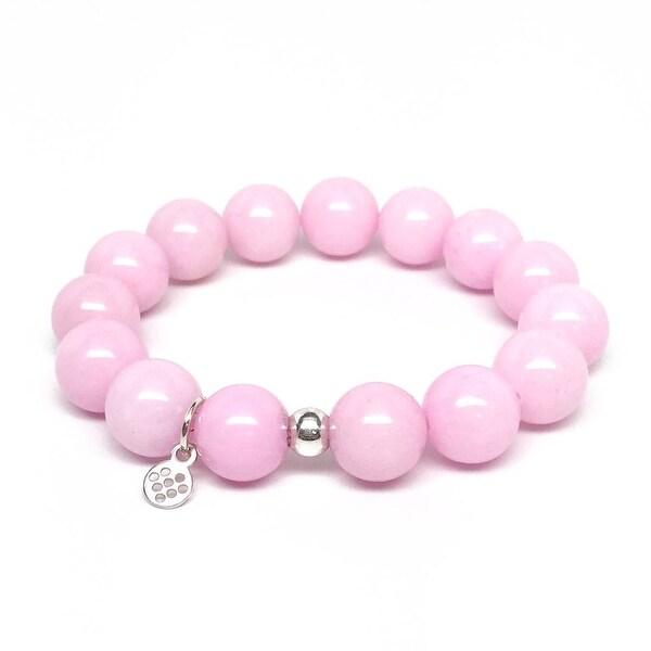 "Pink Jade Brook 7"" Bracelet"