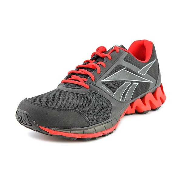 reputable site 17c33 a4258 Reebok Zigkick Alpha Men Round Toe Synthetic Black Running Shoe