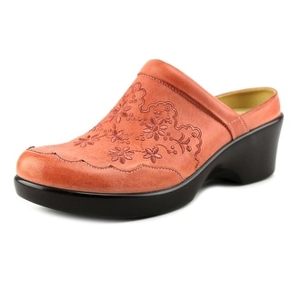 Alegria Isabelle Women Round Toe Leather Clogs