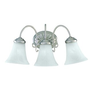 """Savoy House KP-8-510-3 3 Light 19.5"""" Wide Bathroom Fixture from the Liberty Collection"""