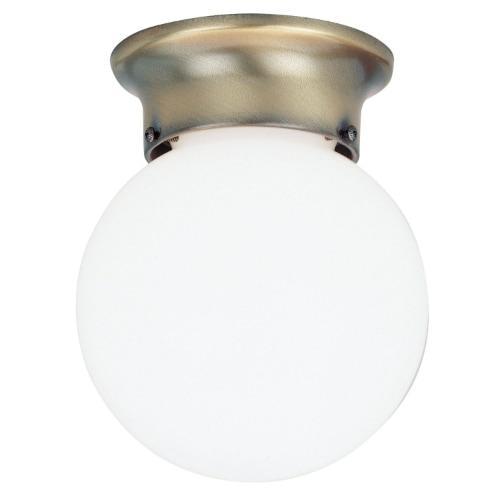 """Westinghouse 66600 Flush Mount Ceiling Light Fixture, 6"""" x 7-1/4"""""""