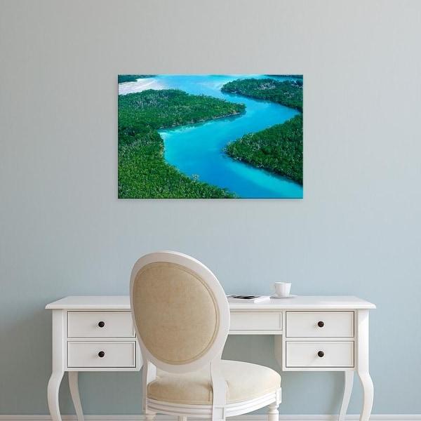 Easy Art Prints Rob Tilley's 'Florida Scene' Premium Canvas Art