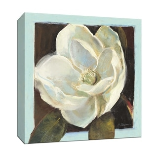 """PTM Images 9-153334  PTM Canvas Collection 12"""" x 12"""" - """"Magnolia III"""" Giclee Flowers Art Print on Canvas"""