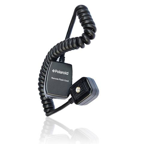 Polaroid 3' TTL Remote Flash Shoe Cord For Sony Alpha Camera