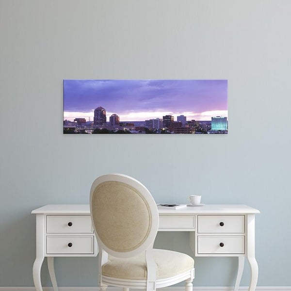 Easy Art Prints Panoramic Images's 'Albuquerque NM' Premium Canvas Art
