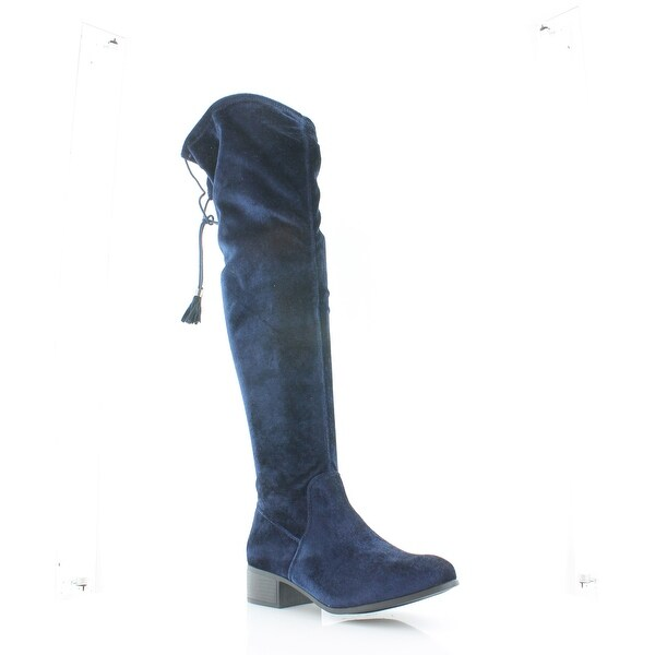 Madden Girl Prissley Women's Boots Navy