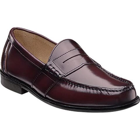 Nunn Bush Men's Kent Loafer Burgundy Leather