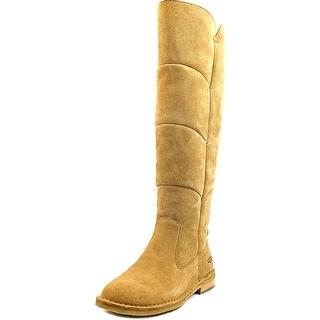 Ugg Australia Samantha Women Round Toe Suede Knee High Boot