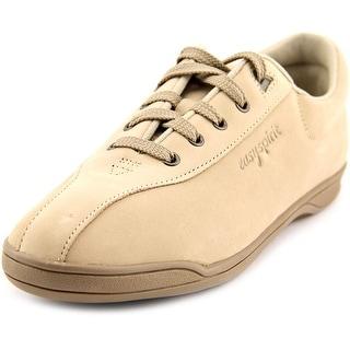 Easy Spirit Ap1 Women 2A Round Toe Leather Tan Walking Shoe