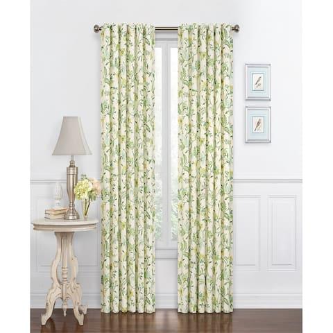 Waverly Carolina Crewel Curtain Panel