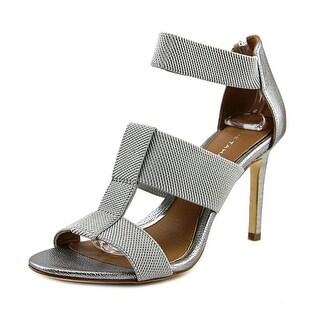 Elie Tahari Seneca   Open Toe Leather  Sandals