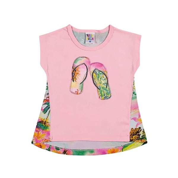 Toddler Girl Shirt Infant Graphic Tee Pulla Bulla Sizes 1-3 Years