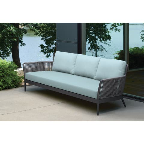 Enna Carbon Sofa by Havenside Home