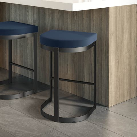 Amisco Lester Counter and Bar Stool - N/A