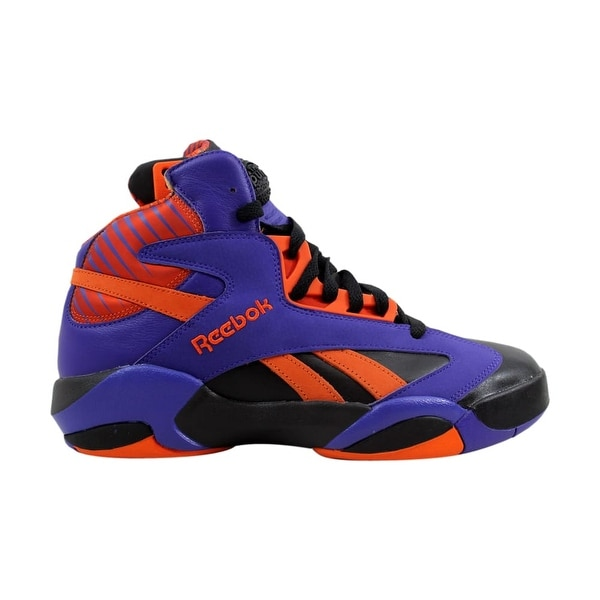 Shop Reebok Shaq Attaq Black Purple-Orange Big Shaqtus V61029 Men s ... 3623184f9