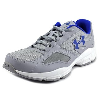 Under Armour UA Zone Men Round Toe Synthetic Gray Walking Shoe