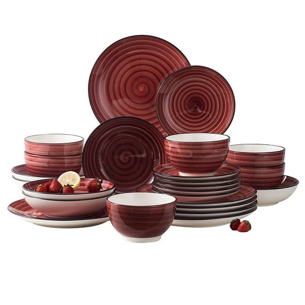 vancasso Bonbon 24-Piece Dinnerware Set (Service for 6)