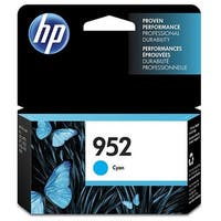 HP 952 Cyan Original Ink Cartridge (L0S49AN)(Single Pack)