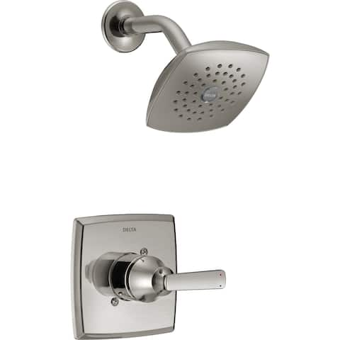 Delta T14264 Ashlyn Monitor 14 Series Single Function Pressure Balanced Shower Trim Package with Touch Clean Shower Head -