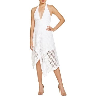 N Nicholas Womens Sundress Crochet Laser Cut - 0