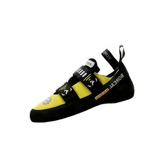 Boreal Climbing Shoes Mens Sol Split Leather Black Yellow 10550