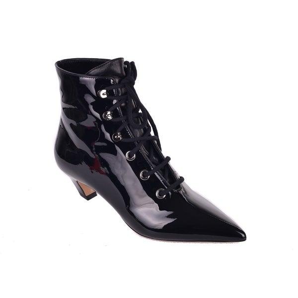Shop Dior Womens I-Dior Black Patent