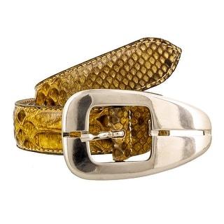 Renato Balestra NAJA CL Genuine Python Ladies Belt