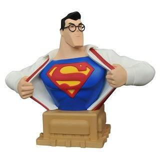 "Superman Animated Clark Kent 6"" Resin Bust, SDCC 2016 Exclusive - multi"