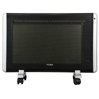Soleus HM5-15-30 Micathermic Wall Mountable Flat Panel Heater - Black