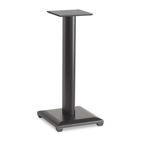 "Sanus NF24B Natural Foundations 24"" Speaker Stand - Pair (Black Lacquer)"