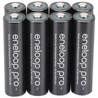 Panasonic Bk-4Hcca8Ba Eneloop(R) Xx Batteries (Aaa; 8 Pk)