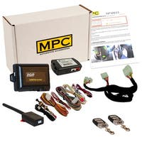 Complete Remote Start Kit with Keyless Entry For 2011-2013 Kia Optima - Includes T-Harness and Bypass Module